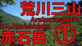 #19 南アルプス 荒川三山・赤石岳縦走① 【Arakawasanzan&Mt.Akaishidake】 「椹島~千枚小屋」