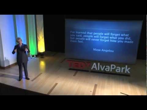 TEDx Alva Park NANCY SCHLICHTING / An Idea on Leadership