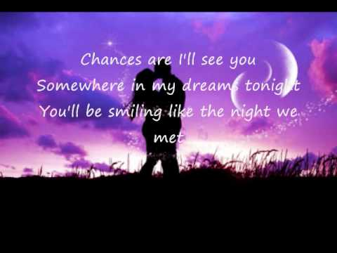 Chances Are w/ lyrics by Bob Seger and Martina McBride