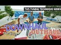 TWS Tuning Technique Series - Ep6: Downhaul and outhaul settings, rigging trim sail windsurfing