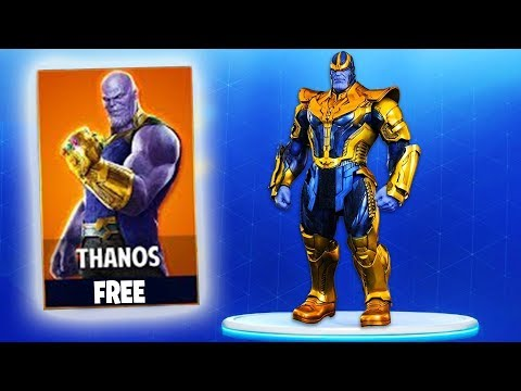 NEW FORTNITE UPDATE OUT NOW! NEW THANOS INFINITY GAUNTLET GAMEPLAY! (FORTNITE)