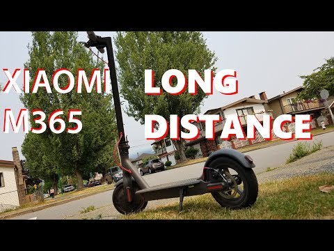Xiaomi M365 long distance ride, Will I make it home?