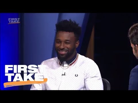 Jarvis Landry Gives Best Pitch Why He Should Be Highest-Paid WR | First Take | ESPN