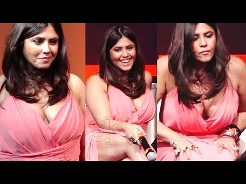 Ekta Kapoor WORST Wardrobe Ever At Jagran Film Festival 2018 thumbnail