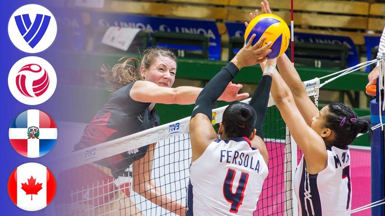 Dominican Republic vs. Canada - Full Match | Women's Volleyball World Grand Prix 2016