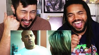 Honest Trailers FURIOUS 7 reaction by Jaby & Chuck!