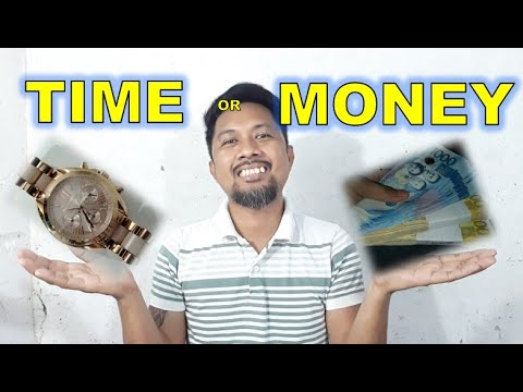 TIME or MONEY? Which will YOU choose?