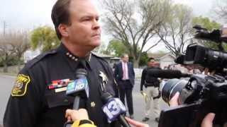 1 Deputy & 1 Civilian Killed - Full Press Conference - Sheriff Adam Christianson - Modesto, Ca