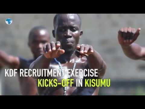 KDF recruitment execise kicks off in Kisumu