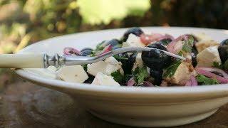 Салат с виноградом и брынзой. Просто и со вкусом! | Salad with grapes and cheese.