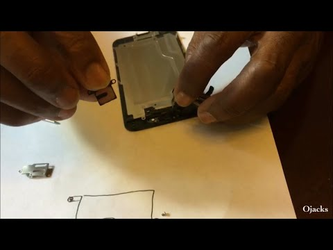 How to Remove Ear Speaker on IPhone 6 for Cleaning