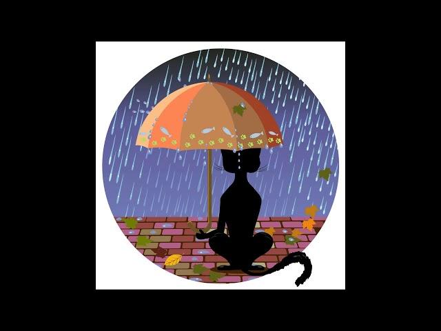 Cat In The Rain - by Roberto Manzoli