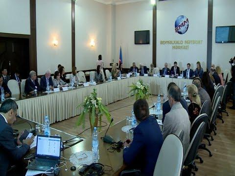 В Баку прошел международный форум 'Армения как региональная угроза'