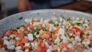 How To Make Ceviche (Extended) - Carlito's Cooking Adventures