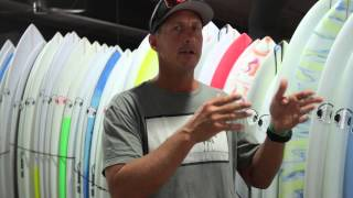 "How to choose the right size surfboard - ""The Big 3"""