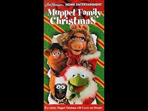 Muppet Family Christmas.Opening To Muppet Family Christmas 1998 Vhs