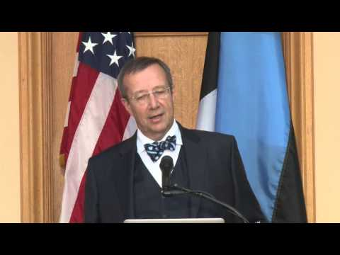 President Ilves of Estonia: Evolving Into a Genuinely Digital Society