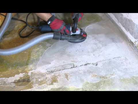 Видео обзор: Шлифмашина по бетону BOSCH GBR 15 CAG в L-BOXX + алмазная чашка