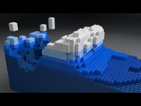 Blender 3D: Lego Fluid Effect