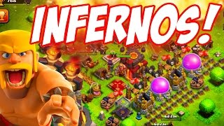 "Clash of Clans ""Troll Base Building!"" 14,000 Gems! The Barb King Arrives!"