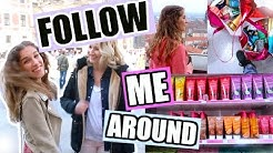 FOLLOW ME AROUND! ♡ LIVE SHOPPING MIT KATHI, DRESDEN + PRAG - VLOG NR.2! BarbaraSofie