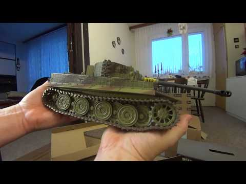Tiger 1 Waltersons -Unboxing