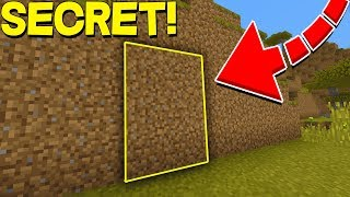 Building a Secret Base in Minecraft Pocket Edition (Realms SMP EP3)