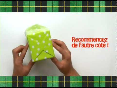 Comment emballer un cadeau vite et beau youtube - Faire un beau paquet cadeau ...