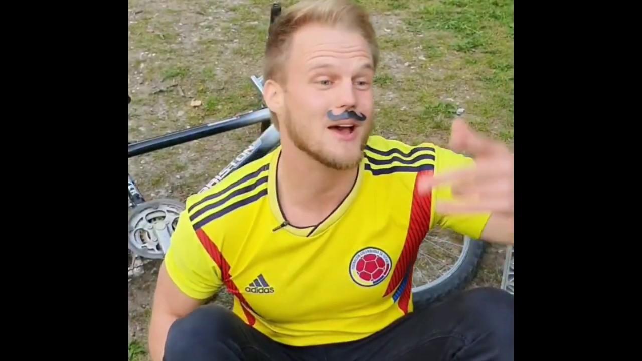 Colombiano Trinfando en Alemania con Humor