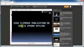 View flipbook app on iPad and iPhone offline thumbnail