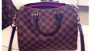 Louis Vuitton Reveal | Speedy B 25 in Damier Ebene