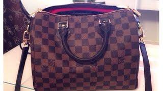 Louis Vuitton Reveal | Speedy B 25 in Damier Ebene