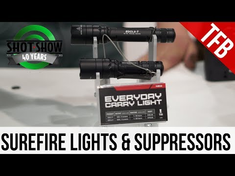 [SHOT 2018] Surefire's New Products for 2018