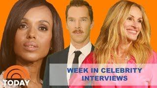 Week In Celebrity Interviews - Oct. 29th - Nov. 2nd | TODAY