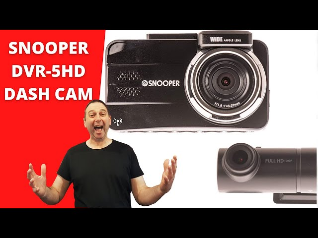 Snooper DVR 5HD Front and Rear Dash Cam