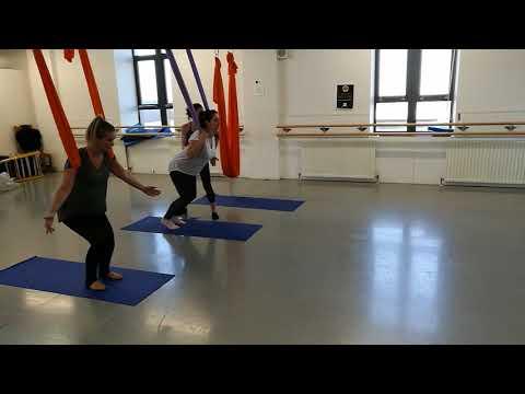 Aerial Pilates at Edinburgh College Granton Campus