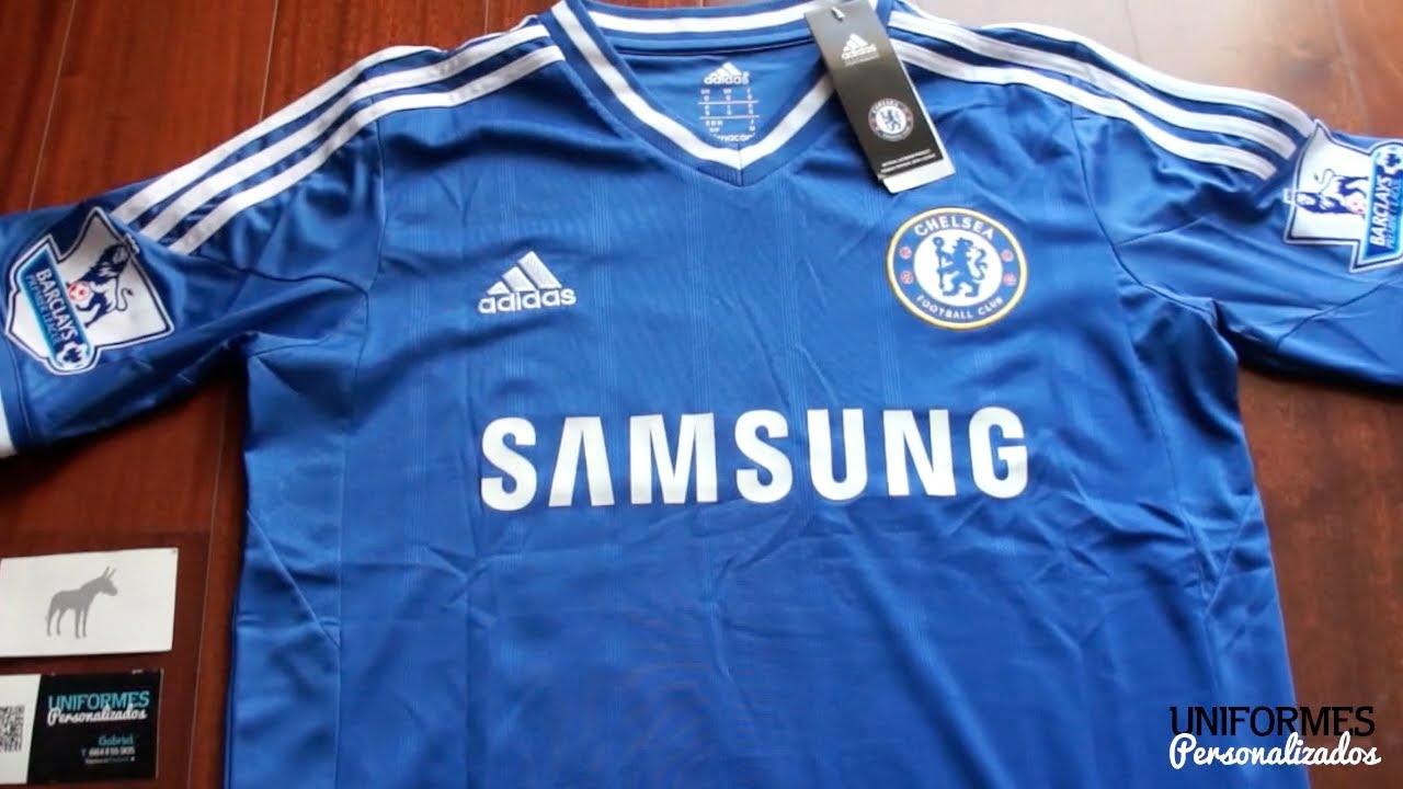 4b1a25611c Chelsea 13-14 (Playera Local) Premier League. - YouTube