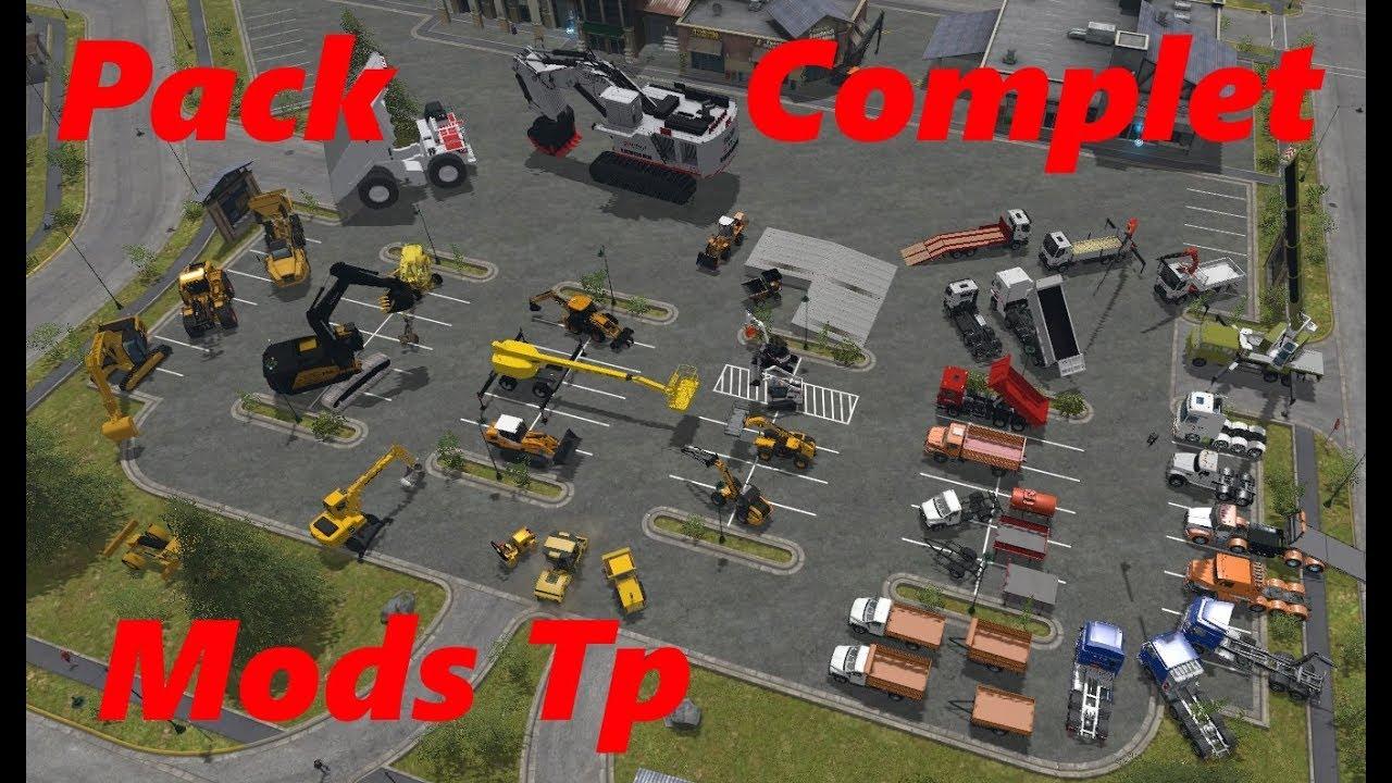 Fs17 mods tp en veut tu en voil pack complet for Pack travaux