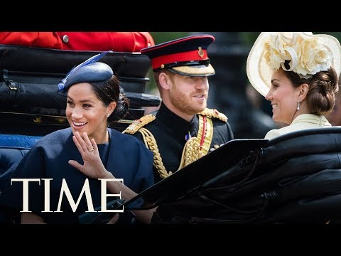 Meghan Markle's First Major Post-Baby Outing At Trooping The Colour Looked Like Lots of Fun | TIME