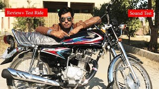 New Honda Cg 125 2019 Full Review + Test Ride + Sound Test
