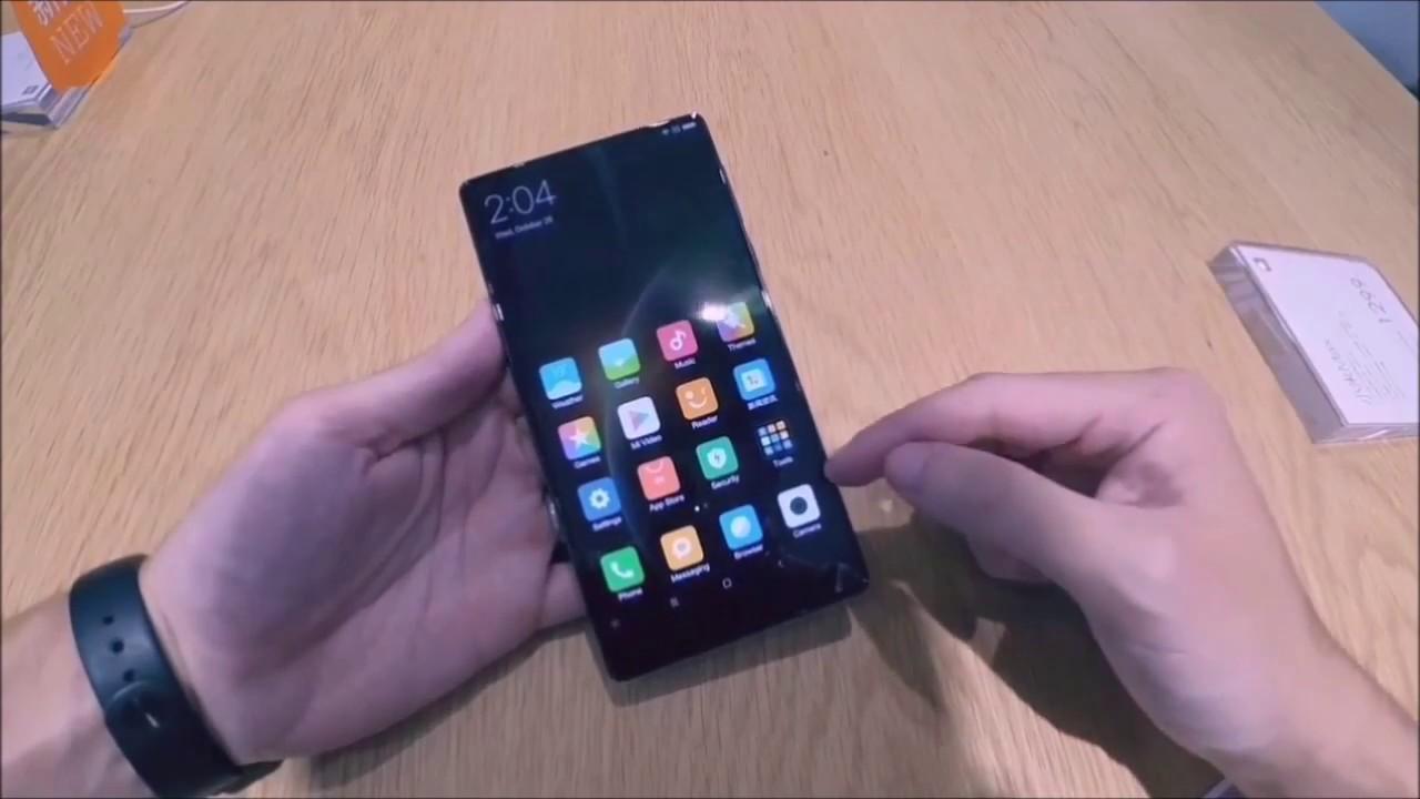 xiamomi mi mix vs iphone 7