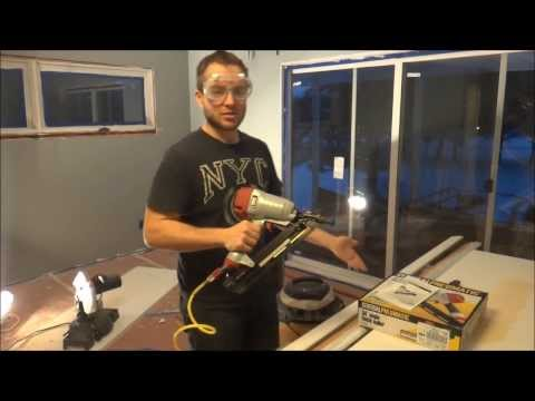 Depth Adjustment & Review of Harbor Freight 34° Angle Finish Nailer 68020