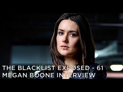 The Blacklist Exposed - S4 - Megan Boone Interview