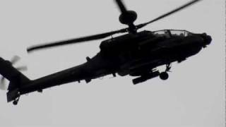 Slow Motion Apache Helicopter (1000fps)