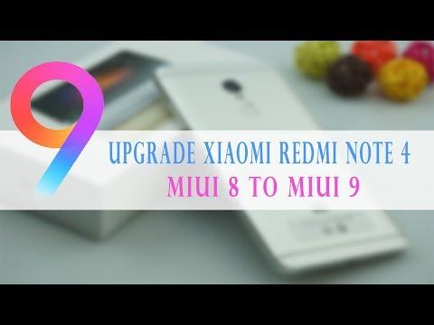 Upgrade Xiaomi Redmi Note 4 MIUI 8 To MIUI 9