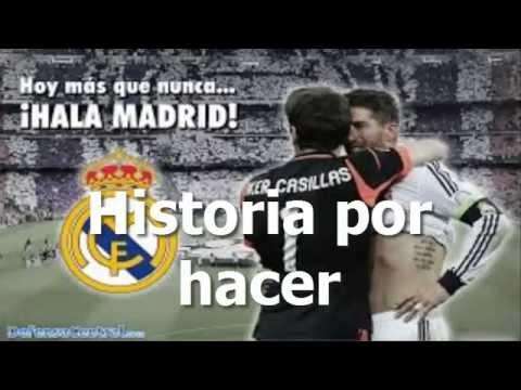 Himno Del Real Madrid Hala Madrid Y Nada Mas Letra Version Corta