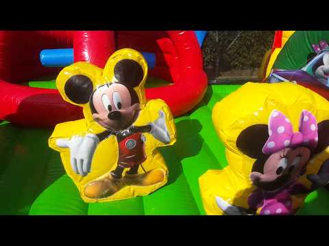 Mickey Park Toddler Learning Combo Bounce House Jacksonville