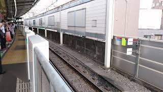東急田園都市線 時差Bizライナーが溝の口駅に到着!