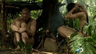 Repeat youtube video 'Naked and Afraid' Reality TV Show Pitts Contestants Against Elements
