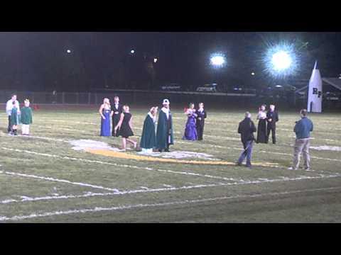 Reeths Puffer High School Homecoming Court 10/11/2013
